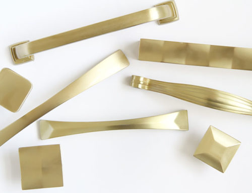 Satin Brass Gold Tops Trend